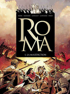 Couverture du premier album de Roma : La malédiction